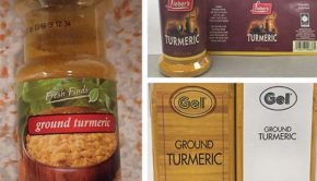 Gel Spice, who distributes its turmeric powder under many different brand names, has issued a turmeric recall. Right now, there are eight brands impacted by the recall.