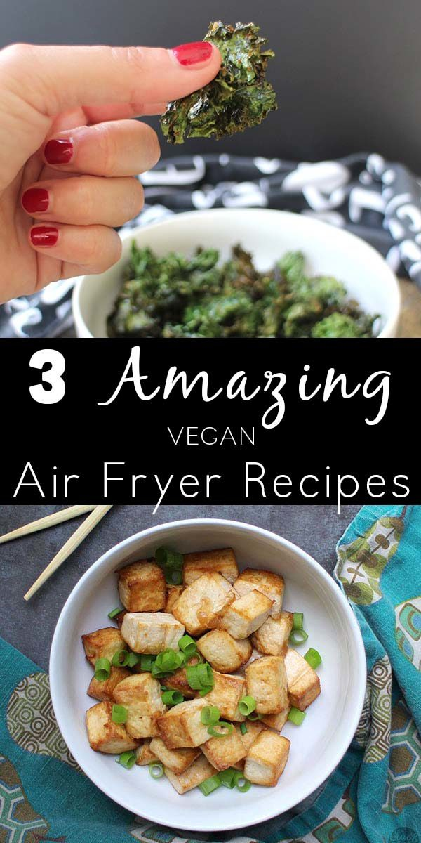 Air fryers are the newest hot kitchen gadget, and I'm in love with mine! Here are some vegan air fryer recipes that showcase the magic of the air fryer.