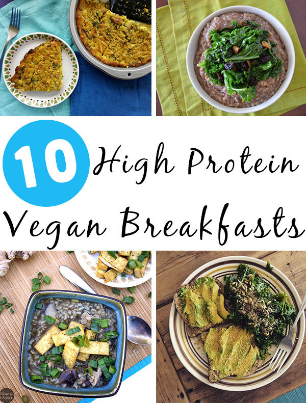 High protein vegan breakfast food can seem elusive. Fear not! We have a bunch of awesome high protein breakfast recipes for you to experiment with!