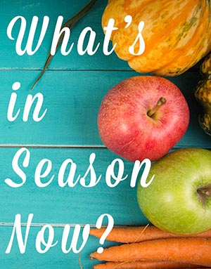 Find out what's in season now, plus get plenty of recipe inspiration to help you make the most of every season's beautiful, local fare.