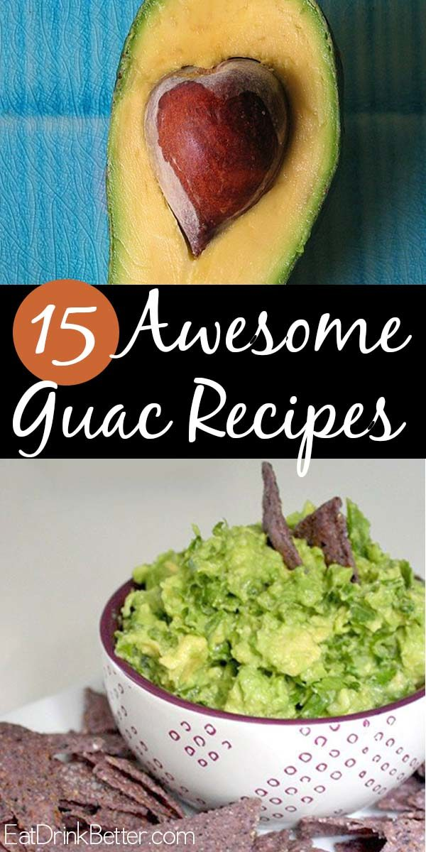 Celebrate Guacamole Day with homemade guac! These guacamole recipes run the gamut from the traditional to the elaborate, so choose your own guac adventure.