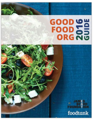 If you're thinking about donating to sustainable food groups for the holidays, FoodTank's Good Food Org Guide can help you find local food organizations that align with your ethics.