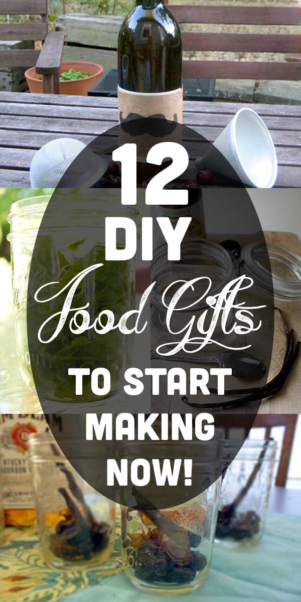 Start these food gifts now, so they'll be ready in time for holiday giving!
