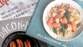 My favorite vegan cookbooks on my shelf right now.