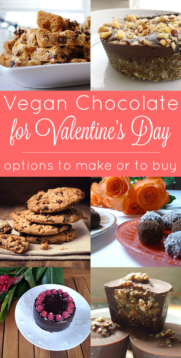 There is a common misconception out there that vegans can't have chocolate, and that is so untrue! Check out these vegan Valentine's day chocolate options. We have some that you can make and some that you can buy.