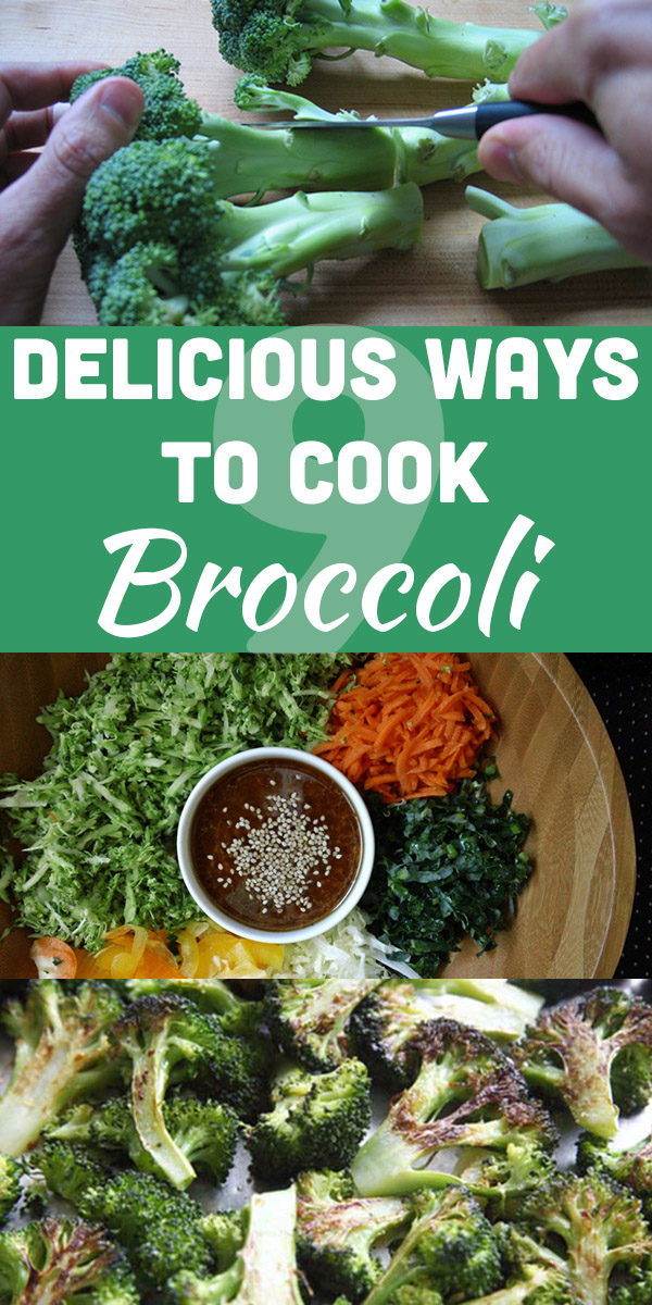 Spring is almost here, and that means broccoli season! Try some of these delicious ways to cook broccoli, my favorite vegetable of all time.
