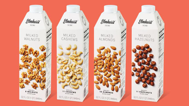 Elmhurst Dairy milked plants use a new technique to create vegan milk without the need for thickeners or stabilizers.
