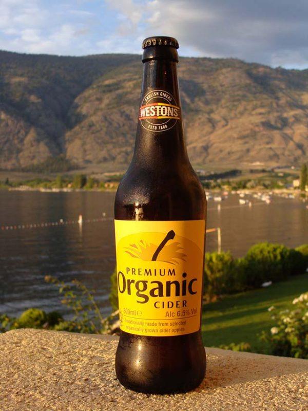 Bottle of Hard Cider