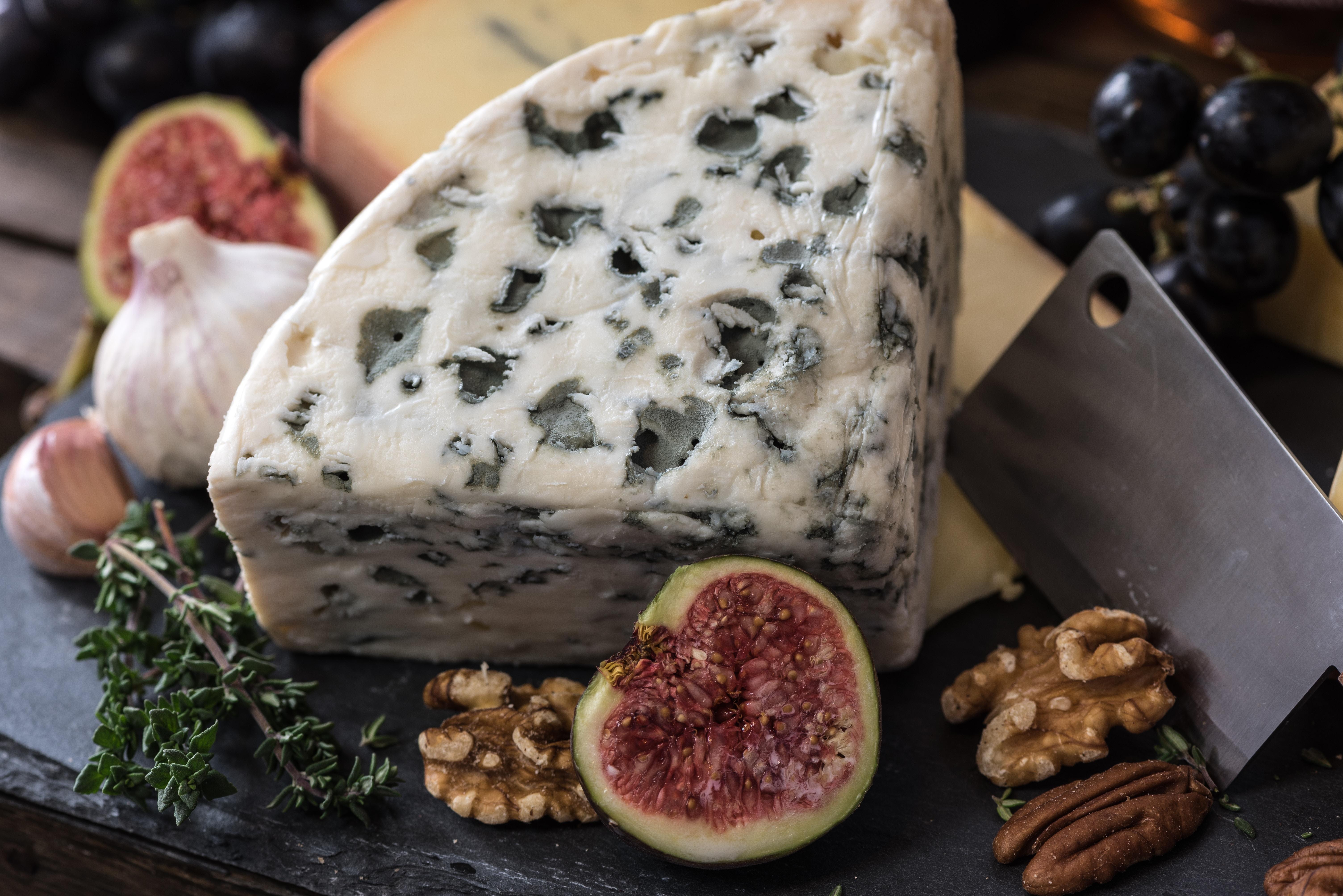 vegan cheese on platter