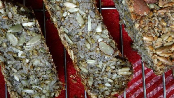 homemade nut bread