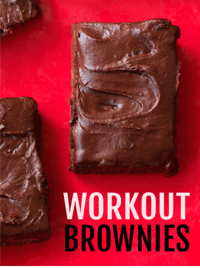 workout brownies