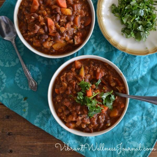pumpkin and adzuki bean soup
